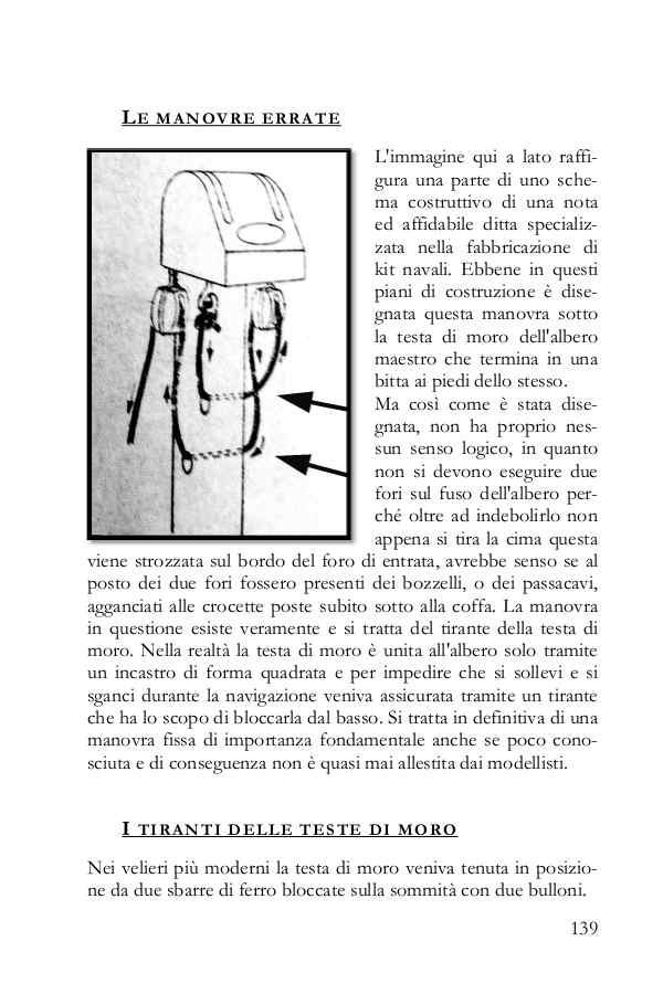 La pagina del libro approfondisce e spiega come intervenire quando vengono disegnate delle manovre errate.