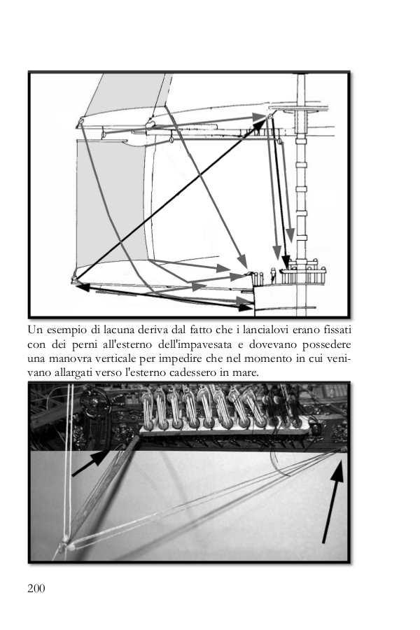 La pagina del libro spiega come ricostruire le manovre mancanti.