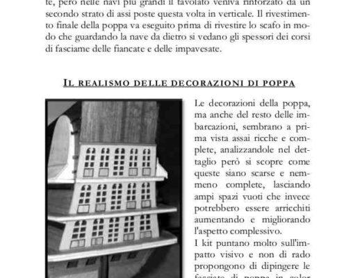 La pagina del libro mostra come migliorare ed abbellire anche gli specchi di poppa più complessi.