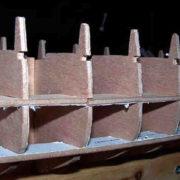 Cutty Sark struttura safo a secco
