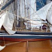 Cutty Sark finito dettaglio dello scafo