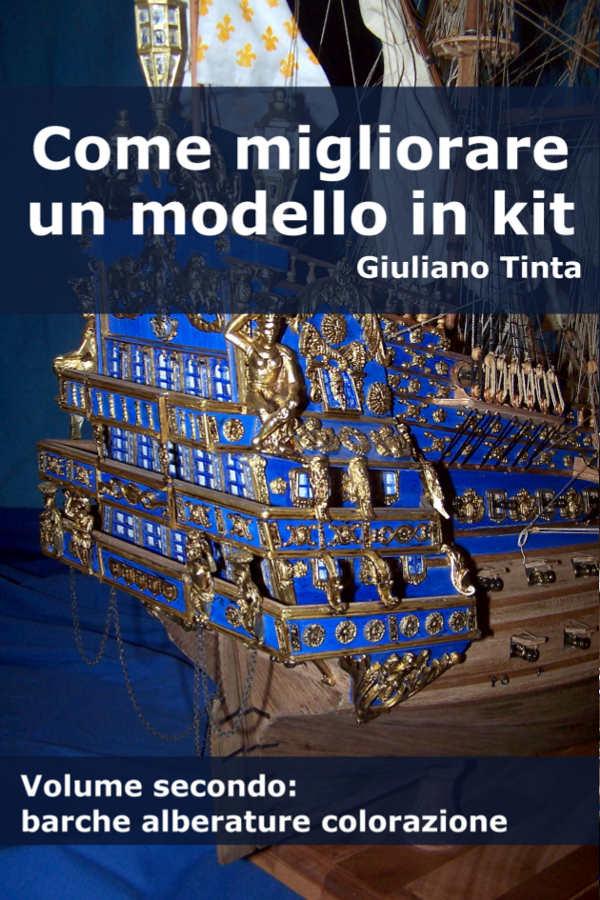 La copertina del libro: Come migliorare un modello in kit (volume secondo) di Giuliano Tinta