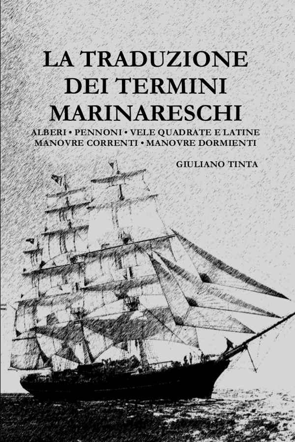 """La copertina del libro """"La traduzione dei termini marinareschi"""""""