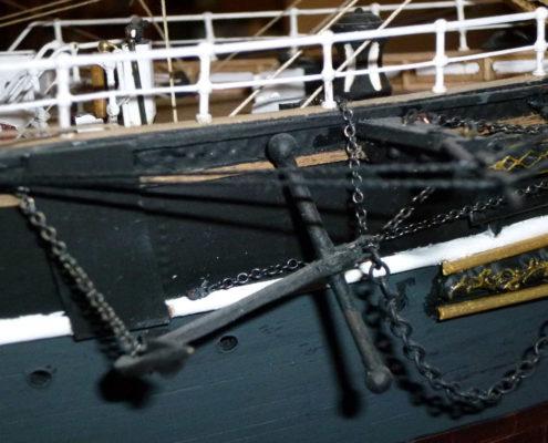 L'ancora del Cutty Sark