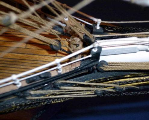 Il paranco di prua del Cutty Sark