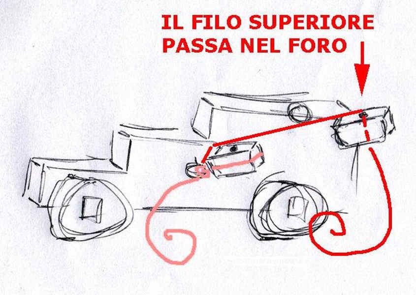 Schema del paranco del cannone: Step 2
