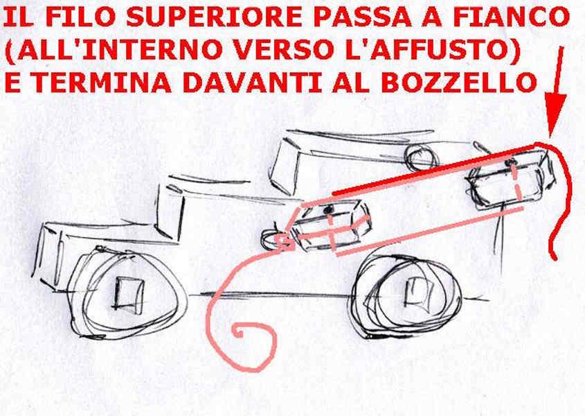 Schema del paranco del cannone: Step 4Schema del paranco del cannone: Step 4