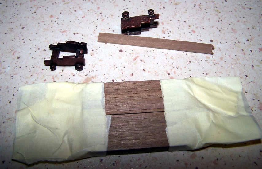 Una scelta oculata del legname per ricostruire gli affusti
