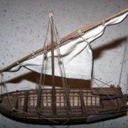 Il rigging della barcaccia è completo