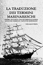 Copertina del libro LA TRADUZIONE DEI TERMINI MARINARESCHI