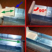 Come costruirsi una dima che permetta di tagliare tanti listelli tutti della medesima lunghezza