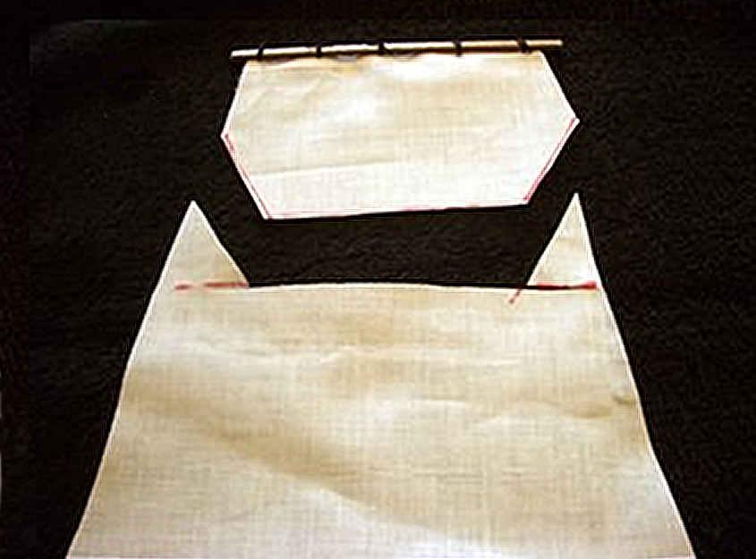 Si taglia una porzione della vela in modo da ridurne la superficie