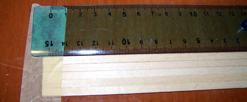 Per ricavare le tavole dei GUIDE PLANKS si devono adoperare dei legni privi di difetti