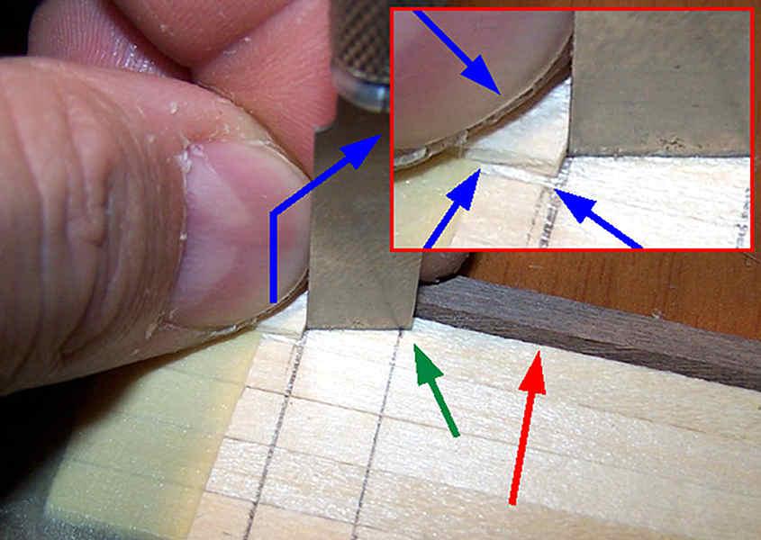 Quasi sempre è necessario ridurre la lunghezza della lama della taglierina