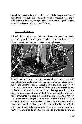 I vascelli erano allestiti con anche altre dotazioni tradizionali ed omesse nei kit, in particolare sulle coffe erano allocati dei cannoncini chiamati appunto