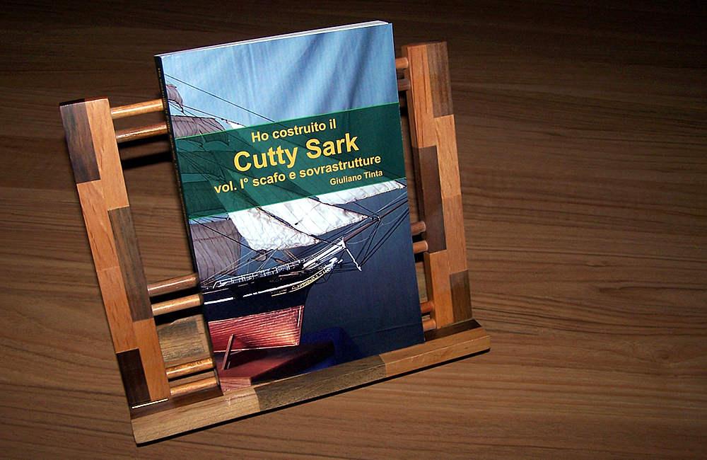 Copertina COME HO COSTRUITO IL CUTTY SARK vol 1 scafo e sovrastrutture