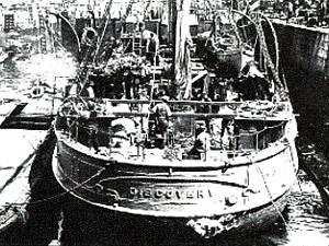 RRS Discovery nella spedizione BANZARE