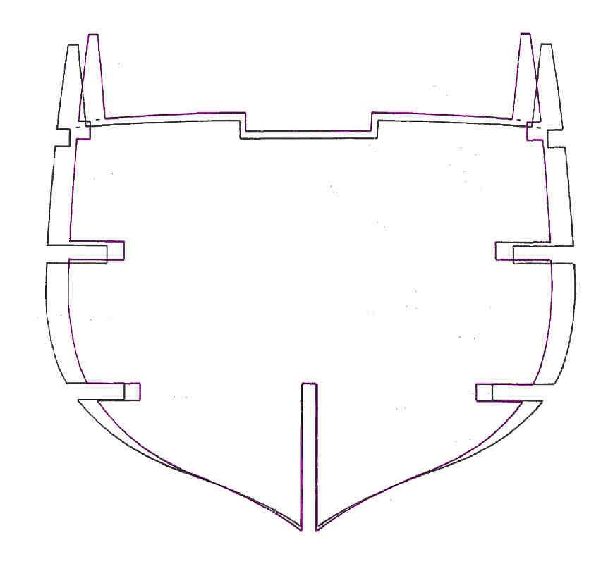 Le modfìdifiche delle dimensioni dell'altezza e della larghezza permettono di adattare la sagoma di una ordinata.