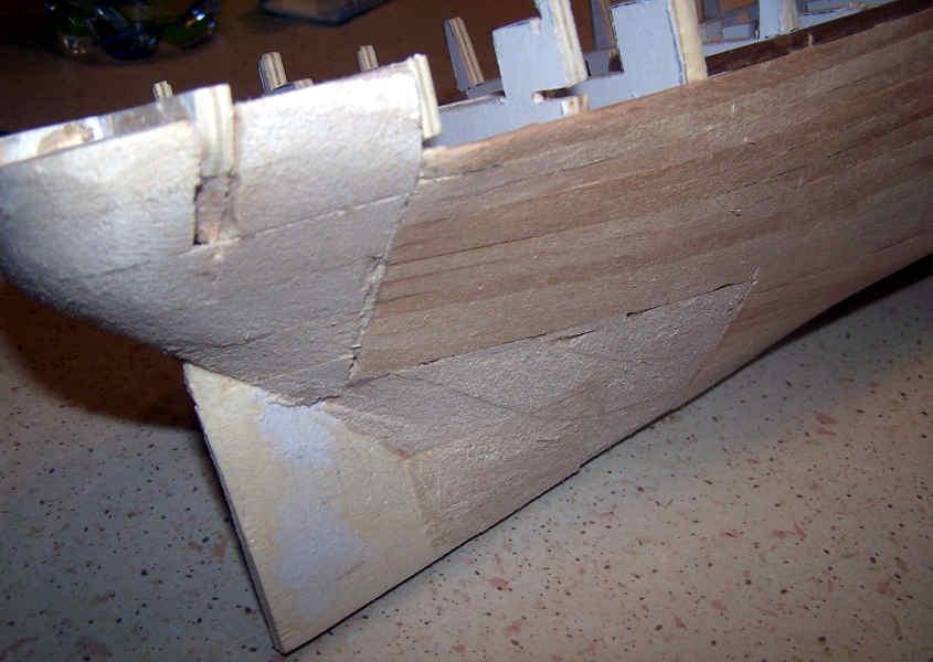 Rispetto all'originale Cutty Sark la poppa è stata modificata in diversi punti e ha assunto una postura diversa come richiesto dalla RRS Discovery.