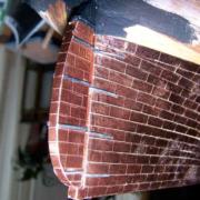 Realizzazione delle cerniere del timone del Cutty Sark (step 4).