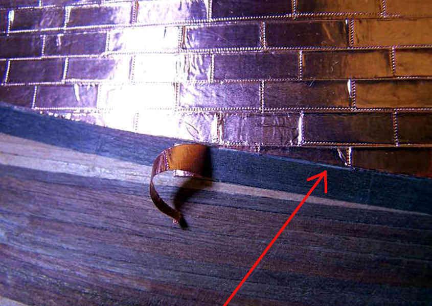 Correggere l'ultima piastrina danneggiata (step 2).