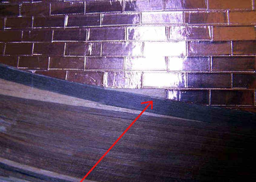 Correggere l'ultima piastrina danneggiata (step 1).