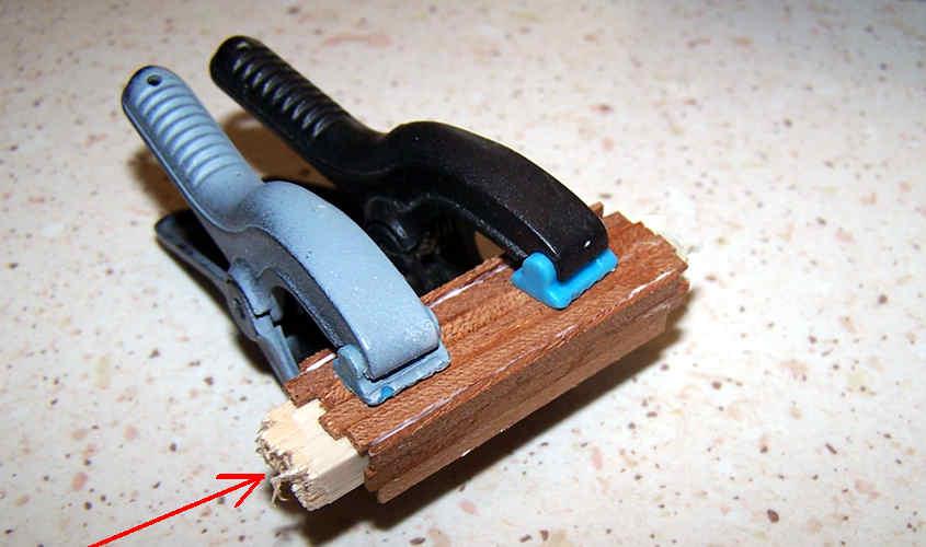 I morsetti garantiscono la dimensione interna della losca.