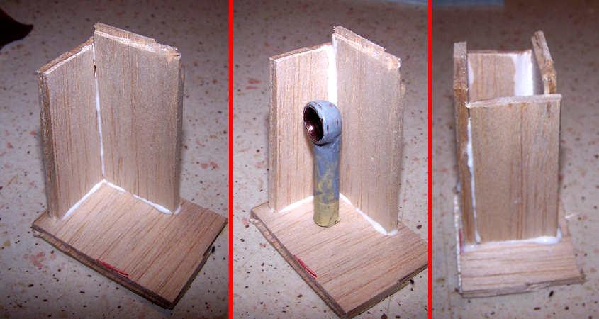Costruisco una cassetta di legno per contente tre il silicone.