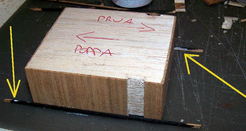La struttura della cabina della RRS Discovery è realizzata in legno di balsa.