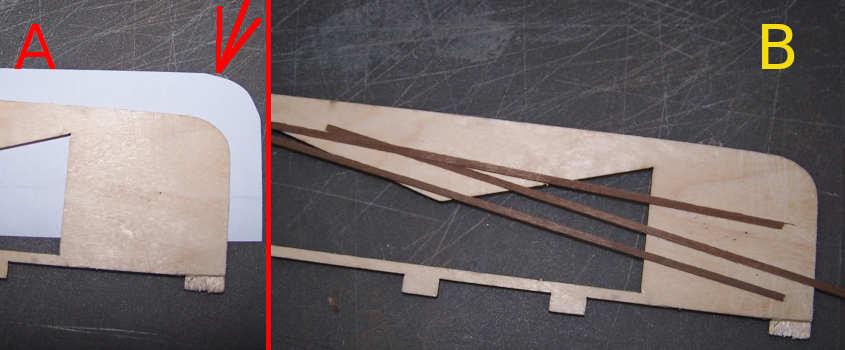 Costruisco una dima di legno abbastanza alta e lunga per piegare i listelli del traliccio.