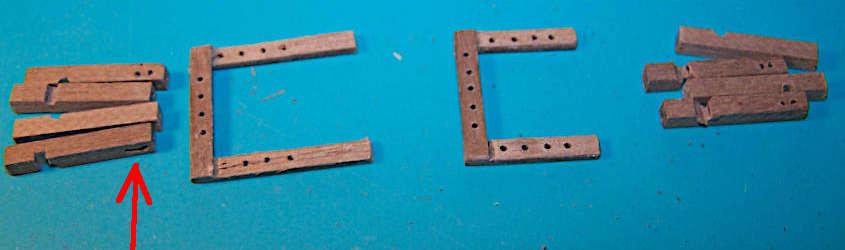 Dopo avere realizzato i componenti basta assemblarsi le strutture.