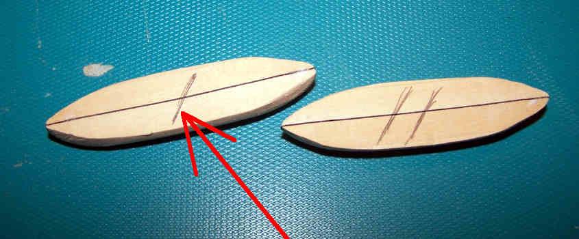 Un segno distintivo mi permette di identificate ogni singola scialuppa della RRS Discovery.