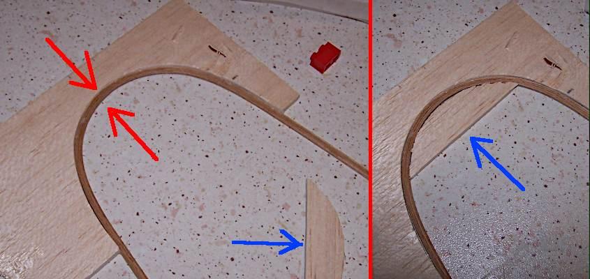 Utilizzando dei listelli spessi solo mezzo millimetro si riesce ad effettuare delle curve moto strette con estrema precisione.