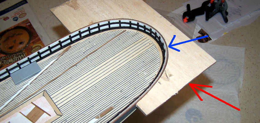Mi devo costruire una dima in legno di balsa che riproduca la curvatura dello specchio di poppa.