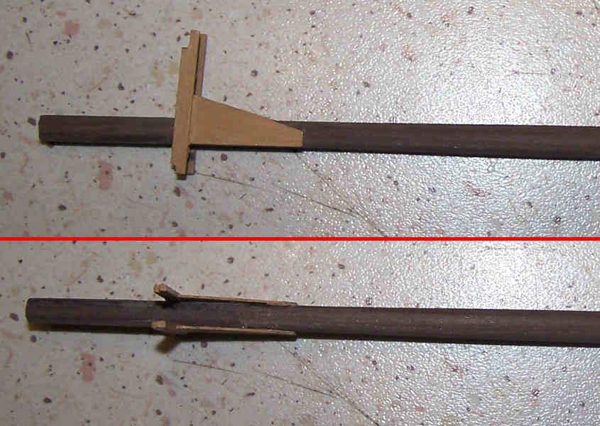 La correzione del colore del legno si ottiene cospargendo di stucco le aree interessate.